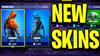 *NEW* LONGSHOT & INSIGHT SKINS! - Fortnite DAILY ITEM SHOP December 15 (Sniper Skins)