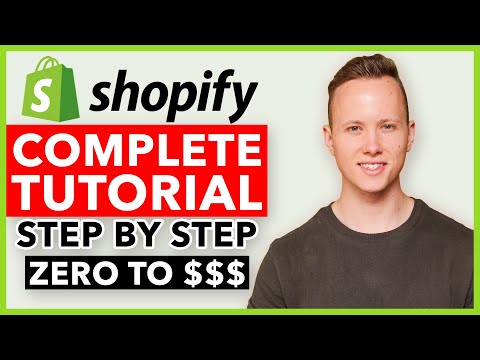 COMPLETE Shopify Tutorial For Beginners 2021 - How To Create A Profitable Shopify Store From Scratch