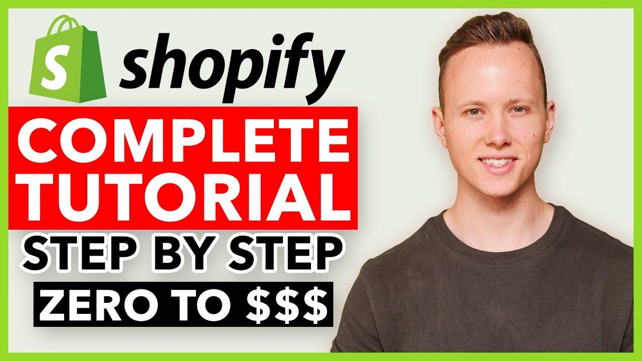 COMPLETE Shopify Tutorial For Beginners 2019 - How To Create A Profitable Shopify Store From Scratch