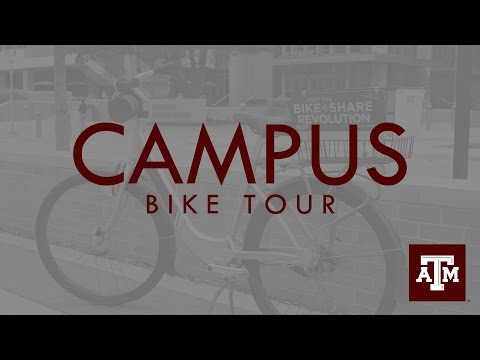 Texas A&M Campus Bike Tour
