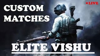 Pubg Mobile Live Stream | Pubg Mobile Custom match | Room id and pass given in live chat