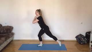 Фитнес на самоизоляции: круговая тренировка от Анастасии Воробьёвой