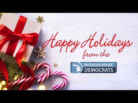 Happy Holidays from the Michigan House Democrats