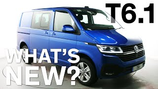 FIRST LOOK - Volkswagen Transporter 6.1 - What's New?
