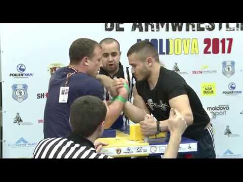Armwrestling 11 03 2017 Finala: Andei Mînăscurtă - Daniel Procopciuc