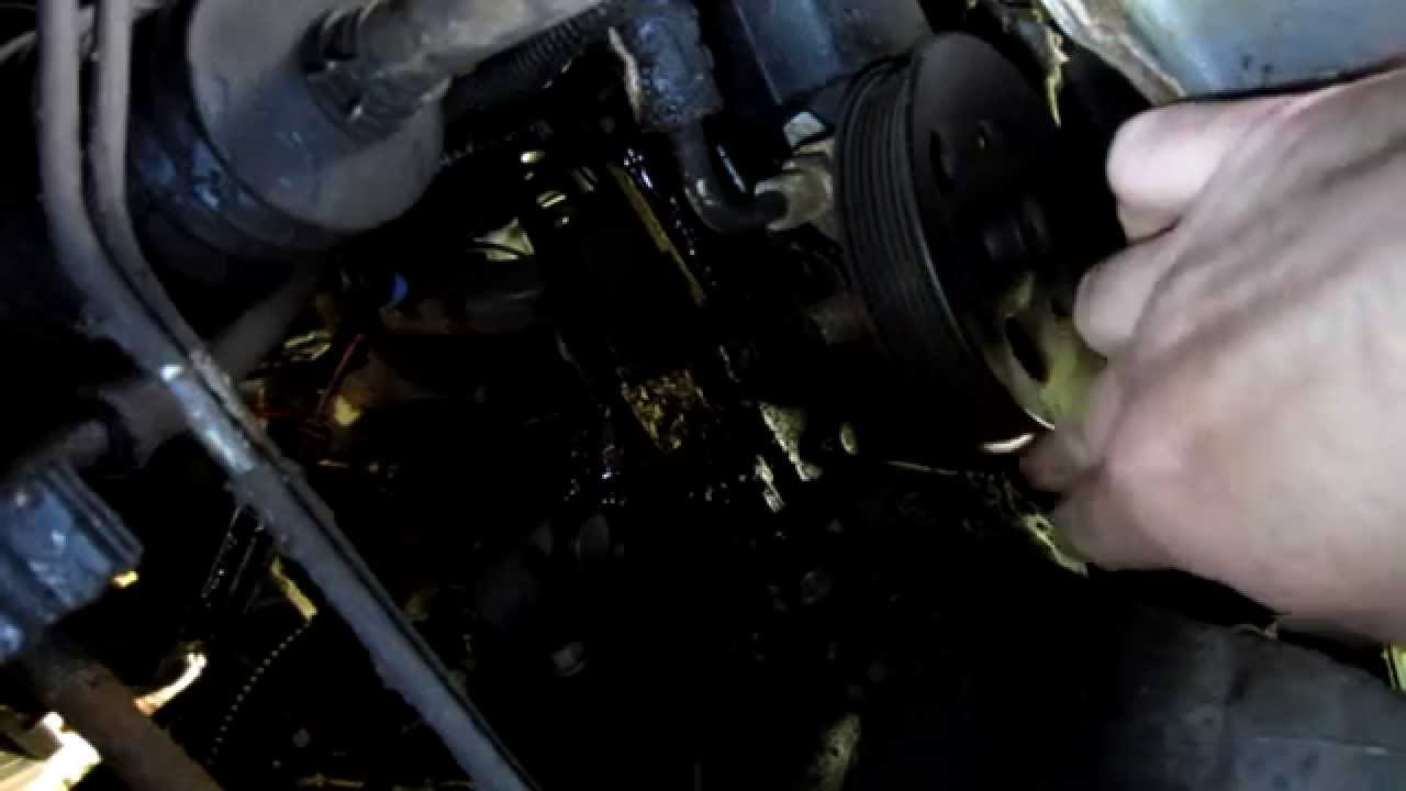 Buick LeSabre power steering FAIL - YouTube