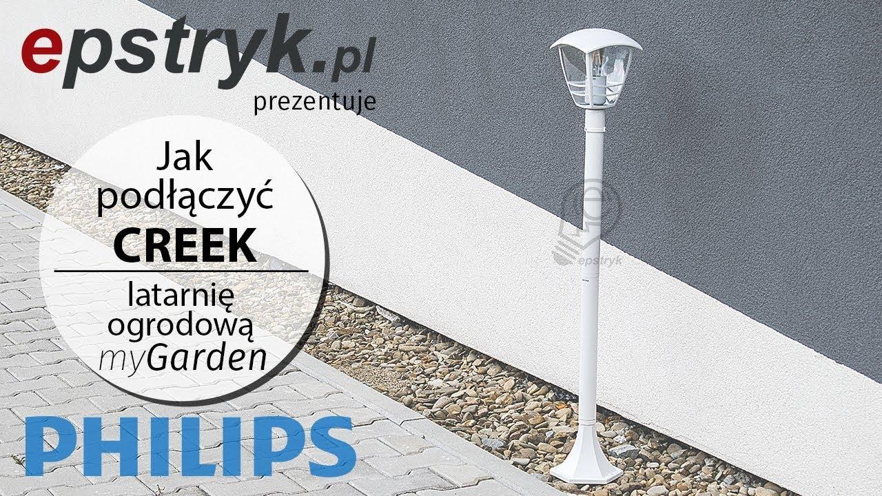 Tutorial Jak Złożyć I Podłączyć Creek M White Lantern Mygarden Philips Lampa Latarnia Ogrodowa Biała