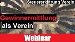 Gewinnermittlung Verein Kurzvortrag | Steuererklärung Verein | Erklärung | Beispiele