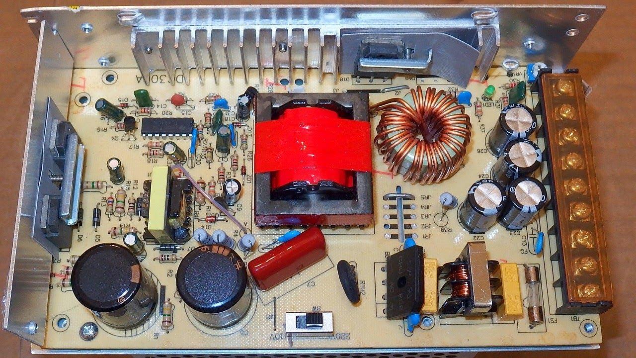 24V 10A 240W power supply - test, failure, teardown and fix