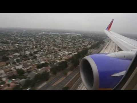 Southwest Long Beach (LGB) Inaugural Arrival and Departure