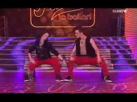 Coreografía Wiki y Leti inmunidad Comercial Dance Miercoles 13 de Enero de 2010