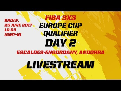 Save FIBA 3x3 Europe Cup Qualifier - Day 2 - Pt. 1 - LIVE - Escaldes-Engordany, Andorra Screenshots