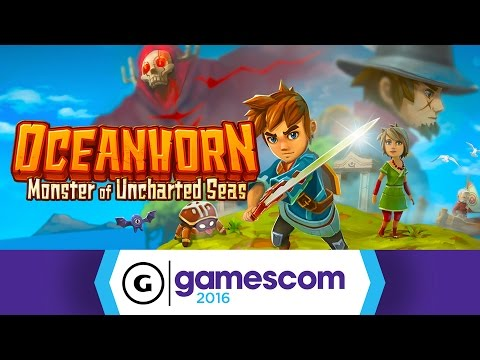 Oceanhorn - Gamescom 2016 Trailer