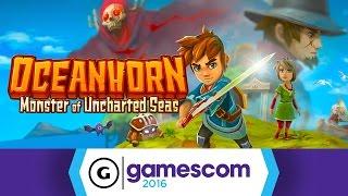 Oceanhorn - Gamescom 2016 Trailer