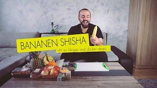Shisha Tutorial I Bananen Shisha I Husni Ashraf ♕