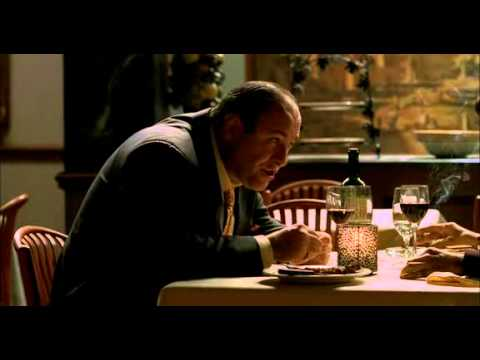 The Sopranos - Tony And Silvio Talk About Ralph