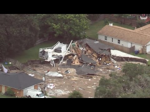 Massive Sinkhole Grows In Florida