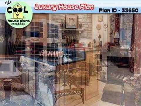Luxury House Plan - Luxury Home Design # 33650