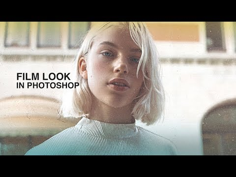 how to make your pictures look like film in photoshop – tutorial