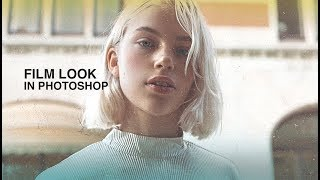 how to make your pictures look like film in photoshop - tutorial
