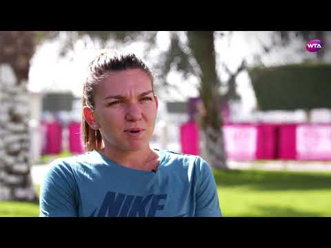 2018 Qatar Open pre-tournament interview: Simona Halep 'it's not about the ranking anymore'