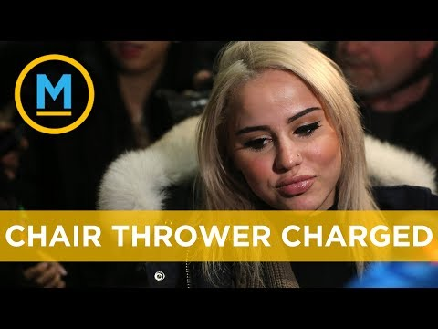 Woman charged for throwing a chair off a Toronto balcony is out on bail | Your Morning