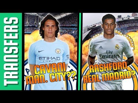 Edinson Cavani a Man. City-ben?? Rashford a Real Madridban? | Tiki-Taka Transfers