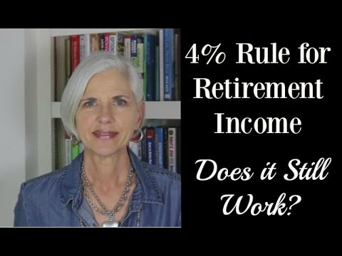 4% Rule For Retirement Income | Does It Still Work?