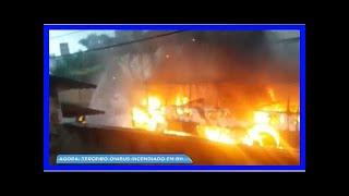 Três ônibus são incendiados na Grande Belo Horizonte - Notícias - R7 Minas Gerais