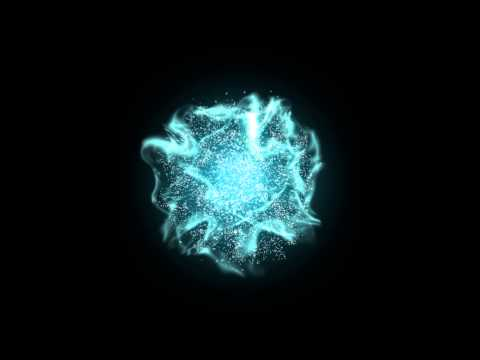 magic energy ball - particle effects