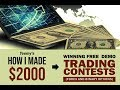 How I Made $2000 Winning Free Demo Trading Contests (forex and binary options) Promo Video