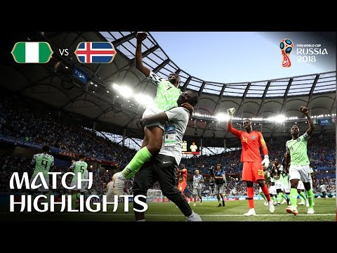 Nigeria v Iceland - 2018 FIFA World Cup Russia鈩� - Match 24