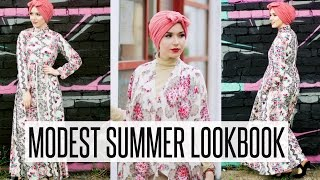 MODEST SUMMER LOOKBOOK | NABIILABEE