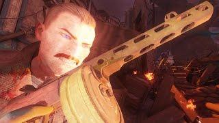Call of Duty Black Ops 3 Zombies XBOX ONE GOROD KROVI Gameplay