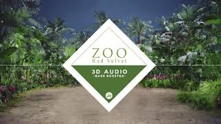Red Velvet 레드벨벳 - Zoo (3D Audio Bass Boosted)