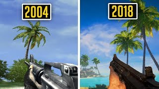 Far Cry vs Far Cry 5 Comparison - 2004 vs 2018 (Graphics and Gameplay Evolution) ULTRA SETTINGS