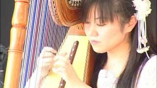 アルパCarreta guy /  Musica Paraguaya /Rieko kamiyama  「カレ-タ・グイ」