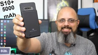 Samsung Galaxy S10 Plus 5000/10000 mAh Battery Case from Zerolemon rEview