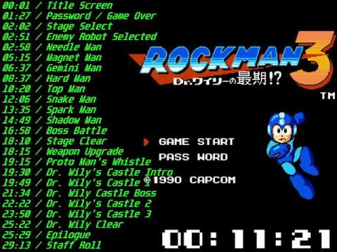 Nes Mega Man 3 Soundtrack