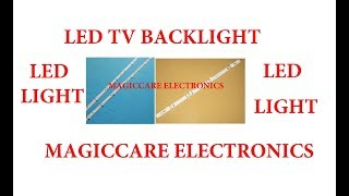 LED LCD TELEVISION PANEL BACK LIGHTING SYSTEM BY MAGICCARE ELECTRONICS