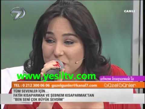 Fatih Kısaparmak BEN SENİ ÇOK BÜYÜK SEVDİM Feat Şebnem Kısaparmak Canlı Performans