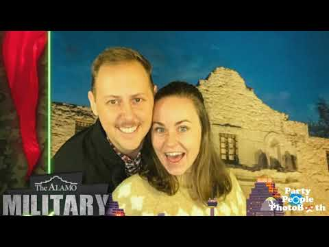 The Alamo Military Mixer - Party People Photobooth
