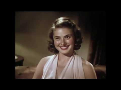 """Ingrid Bergman - Sound Test for """"Intermezzo"""" May 15, 1939."""