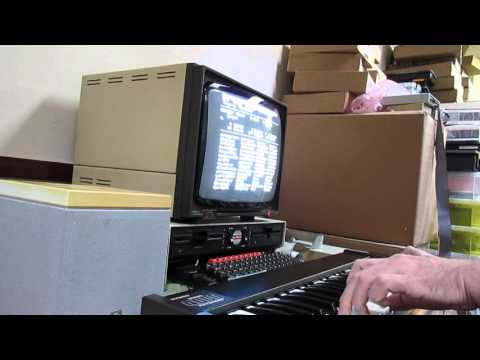 Acorn BBC Music 4000 & 5000 System Demo