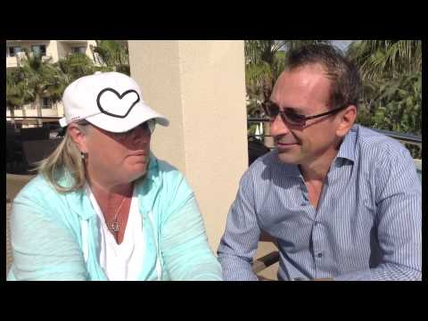 Sandy Shore interviews BrianSimpson at the Mallorca Smooth Jazz Festival 2013