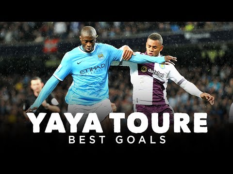 YAYA TOURE BEST MAN CITY GOALS | 2010-2017
