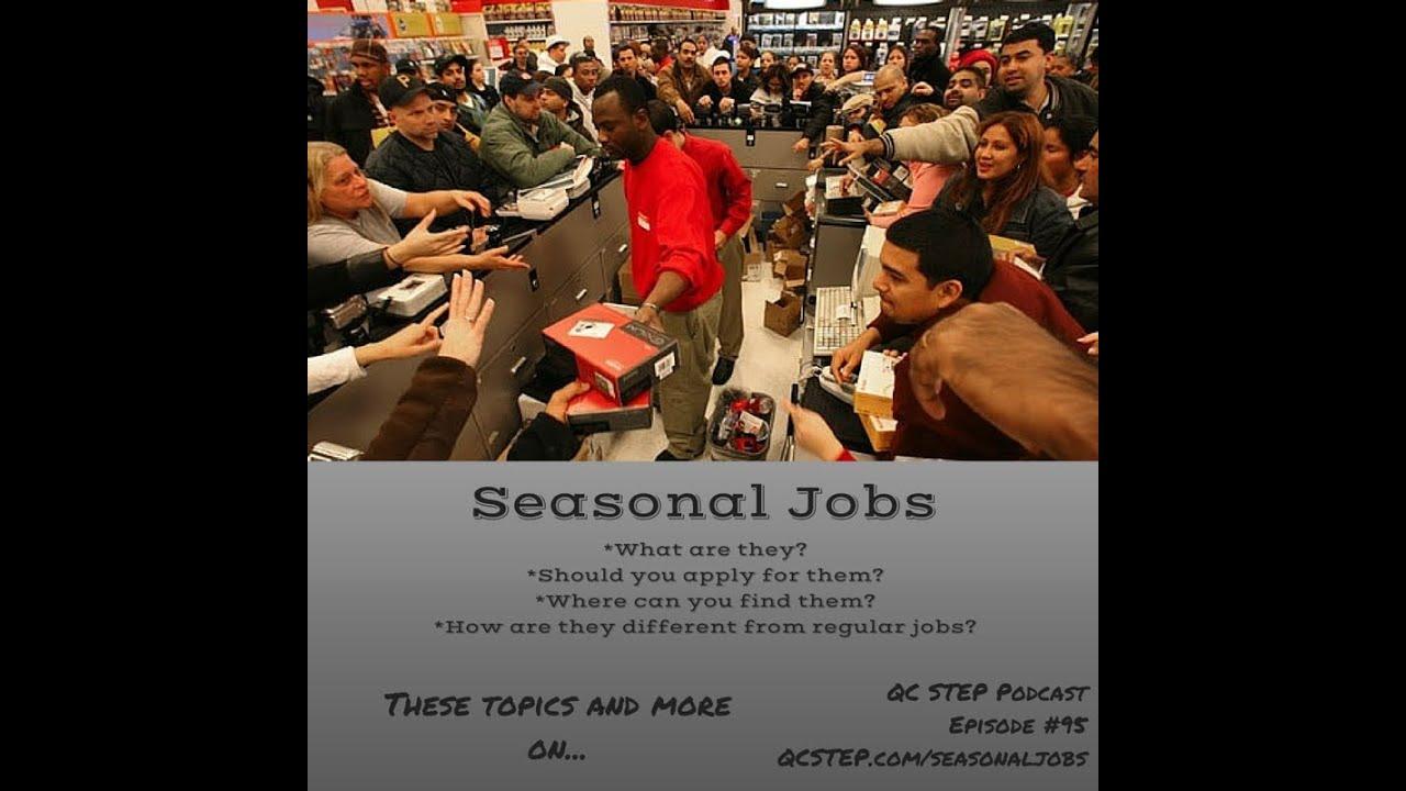 what are seasonal jobs