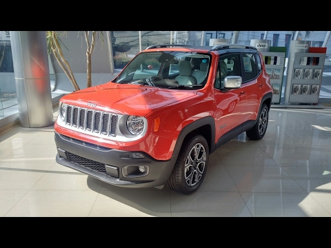 In Depth Tour Jeep Renegade Limited - Jeep Terkecil