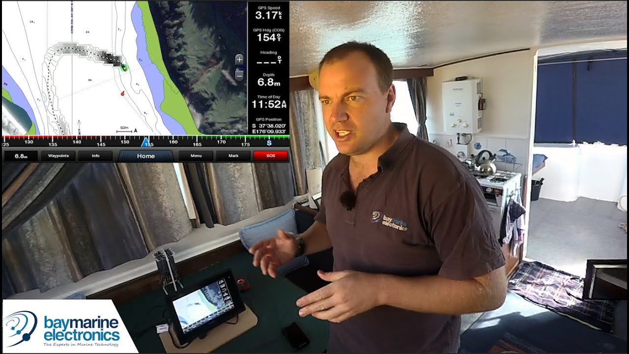 Garmin QuickDraw & Panoptix in Use - Setting Install Depth and Tide Offsets