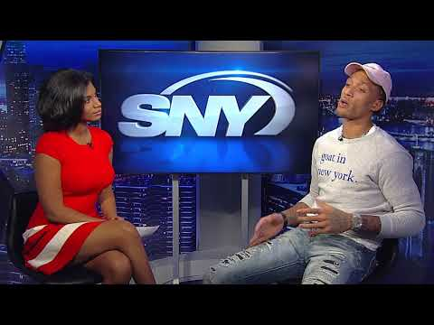 Timeout with Taylor Rooks - Knicks forward Michael Beasley
